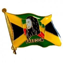 Epinglette Bob Marley Freedom