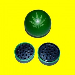 Broyeur acrylique boule verte