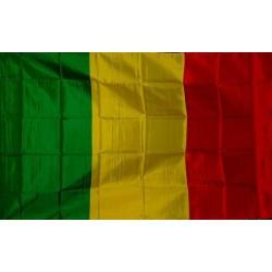 Drapeau Mali drapeau Rasta