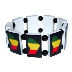 Bracelet Rasta Guyane