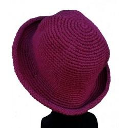 Chapeau souple violet