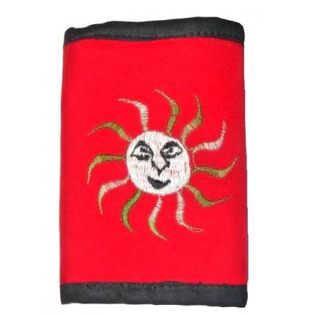 Porte feuille Soleil