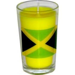 Bougie Jamaïque en verrine