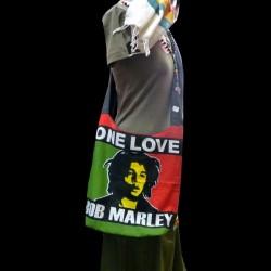 Grand sac bandoulière Bob Marley
