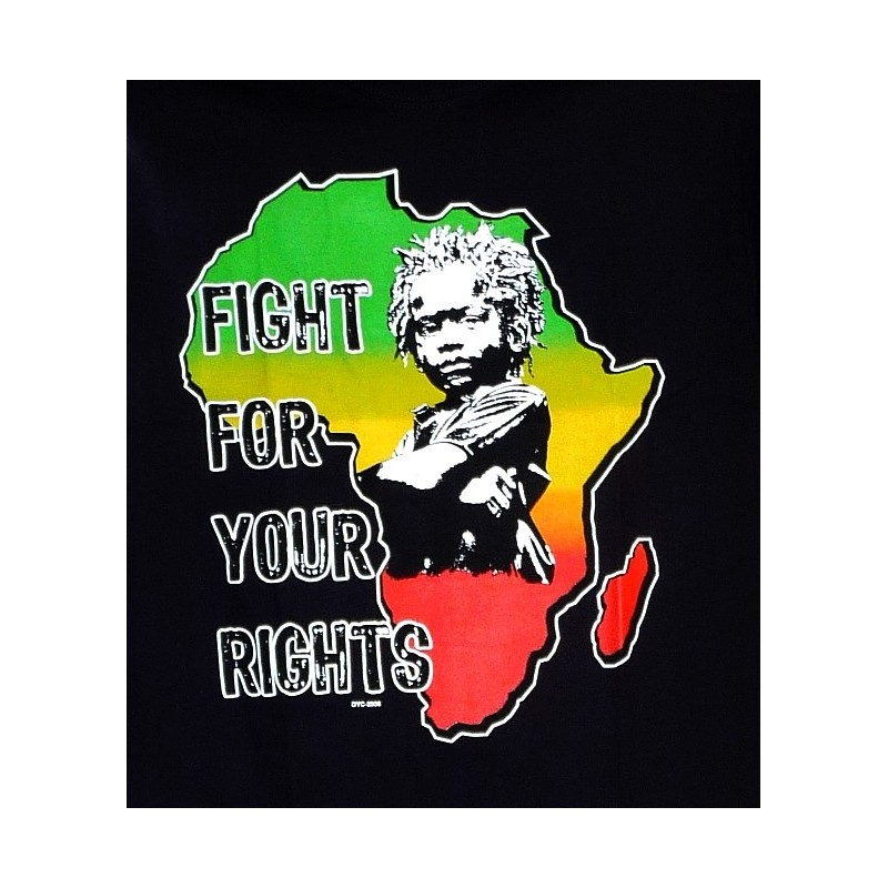 T Shirt Baby Rasta Fight For Your Rights