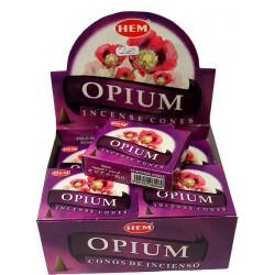 Encens opium en cônes