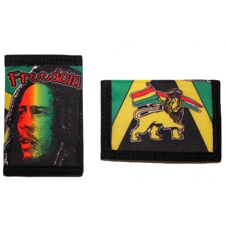 Portefeuille Bob Marley et Lion of Judah