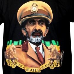 T-shirt Rasta Haile Selassie