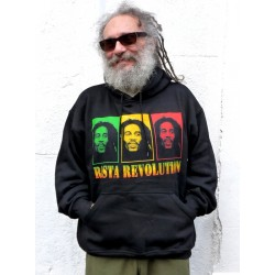 Sweat- shirt Rasta revolution