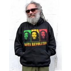 Sweat- shirt Rasta revolution