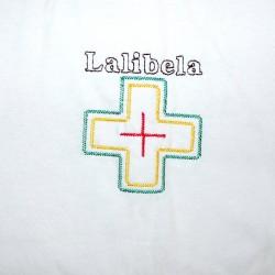 T-shirt blanc Ethiopie enfant
