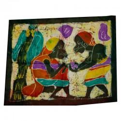 Batik tissus du Burkina-Faso