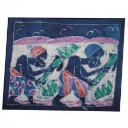 Petit batik africain