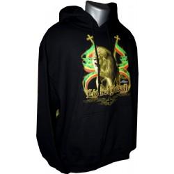 Sweatshirt Lion de Judah bannières