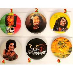 Choix de badge Bob Marley