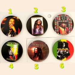 Badge Tribute to Bob Marley