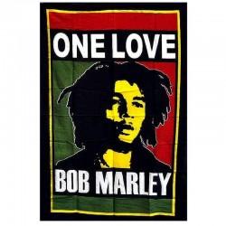 Grande tenture Bob Marley One Love