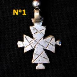 Porte-clés d' Ethiopie avec Croix