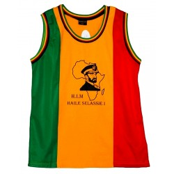 T-shirt filet Rasta Haile Selassie