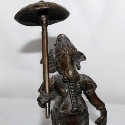 Ganesh bronze ancien 17 cm