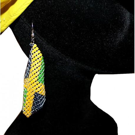 Boucles d' oreilles Jamaïque