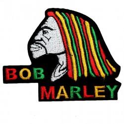 Patch symbolisant Bob Marley