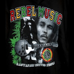 Sweatshirt Bob Marley Rebel Music