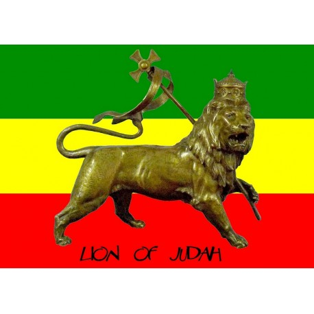 Autocollant Rasta Lion of Judah