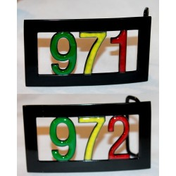 Boucle de ceinture 971 - 972