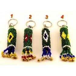 Beau porte clés petites perles