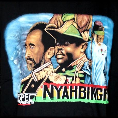 T-shirt Marcus Garvey Haile Selassie