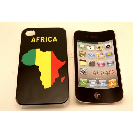 Coque pour Iphone 4G 4S Africa