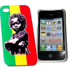 Coque Rasta Baby pour Iphone 4G 4S
