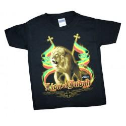 T-shirt rasta kid Lion