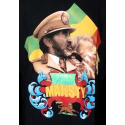 T-shirt Haile Selassie Lion