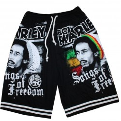 Short Rasta Bob Marley Song of Freedom
