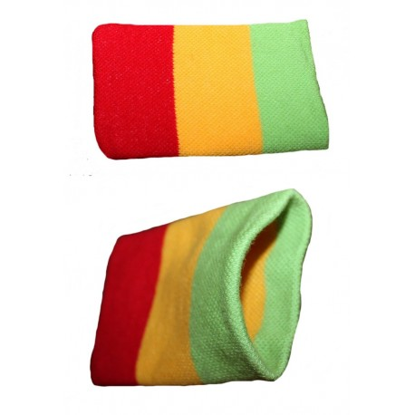 Pochette couleurs rasta