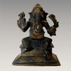 Très beau Ganesh bronze ancien