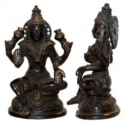Lakshmi en bronze ancien