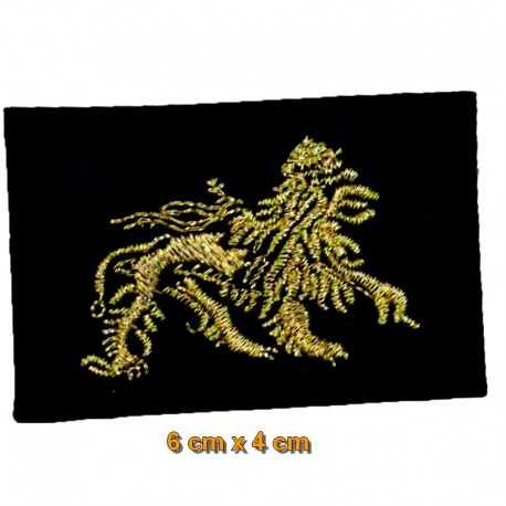 Patch tissu Lion of Judah 6 x 4