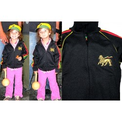 Veste rasta enfants Lion or