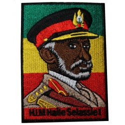 Patch Rastafari Haile Selassie I