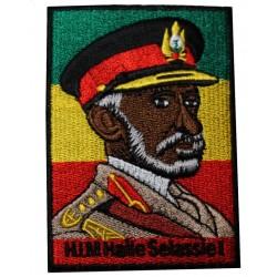 Patch Rastafari Haile Selassie I