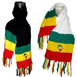 Echarpe couleurs Rasta Afrique
