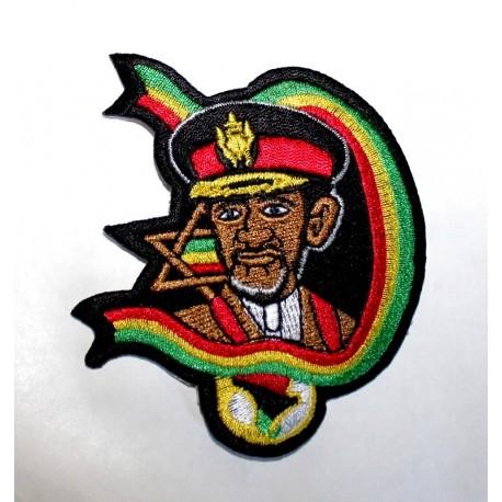 Patch Haile Selassie I étoile