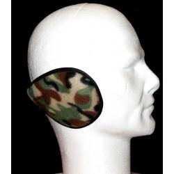 Cache oreilles camouflage