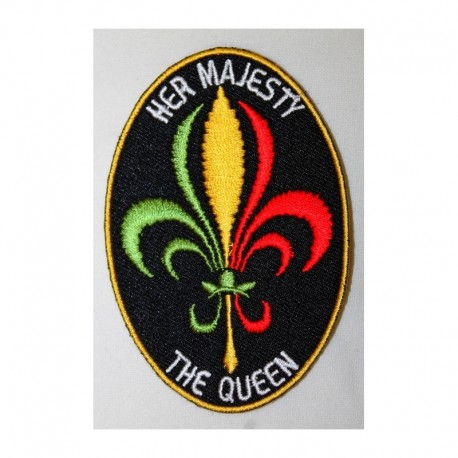 Patche thermocollant Couleurs Rasta
