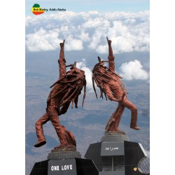 Carte artisanale Bob Marley