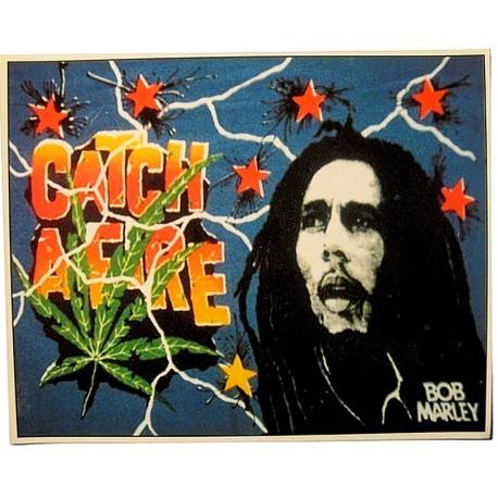 Sticker autocollant Bob Marley 1