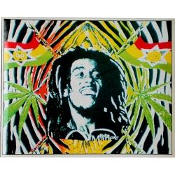 Autocollant Bob Marley jeune